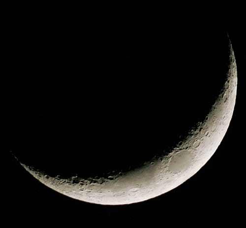 Luna Calante o Luna Crescente