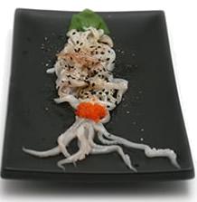 Polipo Crudo - Gastronautica con dimensione vela